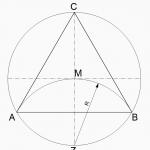 Gleichseitiges Dreieck zeichnen