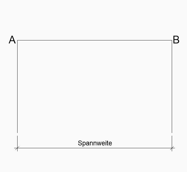 Rundbogen zeichnen konstruieren Spannweite