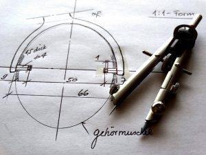 Linienart technisch Zeichnen CAD Schule Beruf