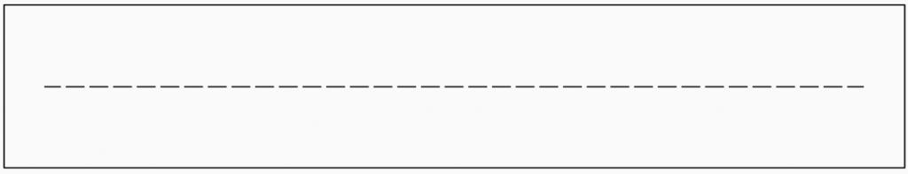 Technisch Zeichnen Linienarten Strichlinie schmal Grundlagen