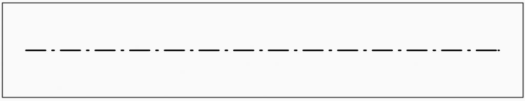 Technisch Zeichnen Linienarten Strichpunktlinie Breit grundlagen