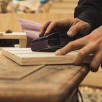 Moderner Stummer Diener Holz selber bauen