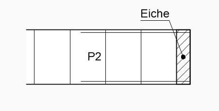 Technisch-Zeichnen-Bemaßung-Hinweislinie-mit-Punkt-fläche