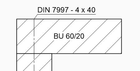 Technisch-Zeichnen-Bemaßung-Hinweislinie-ohne-Punkt-pfeil